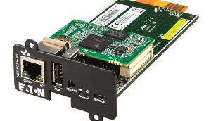 Eaton updates UPS network cybersecurity card range