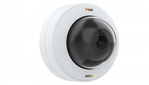 Streamlined fixed dome cameras from Axis Communications